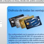 Cómo registrarte en Credicard Banplus en línea, fácil y rápido