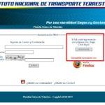 Cómo hacer la consulta de multas del INTT