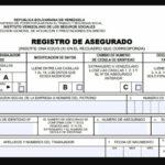 Planilla 14 02 • Registro obligatorio para el IVSS