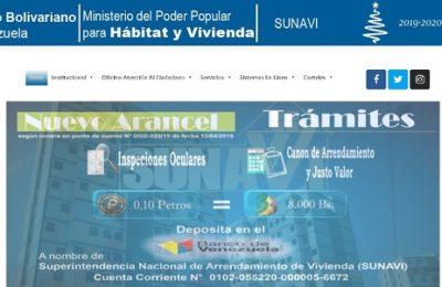Portal Web Sunavi