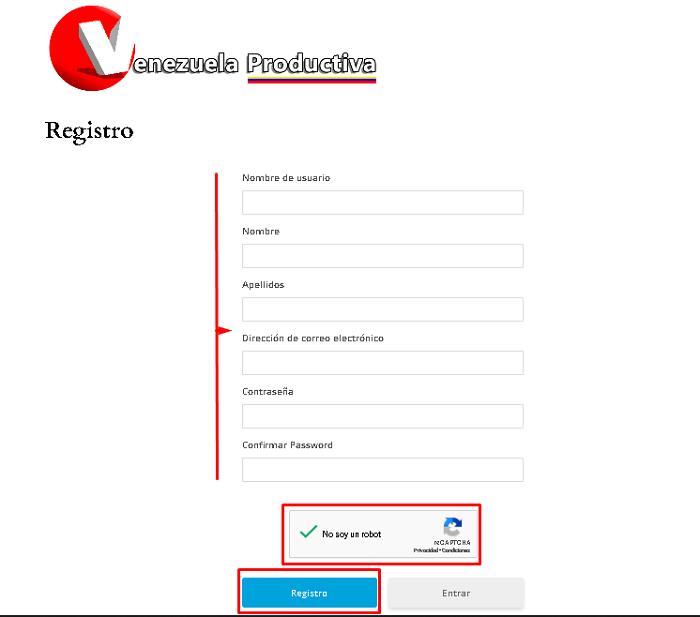 Registro Venezuela Productiva