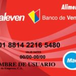 Valeven: Consulta el saldo en la tarjeta de alimentación