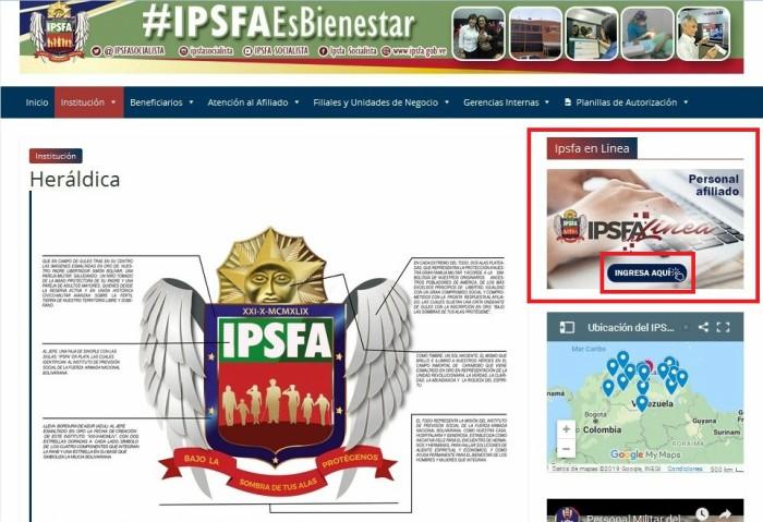ipsfa en linea acceso