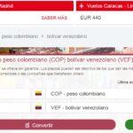 Pesos colombianos en Venezuela • Tipo de cambio, precio y más